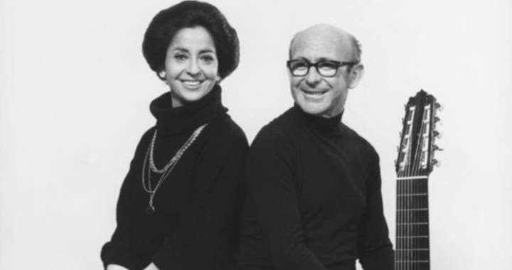 Teresa Berganza with Narciso Yepes