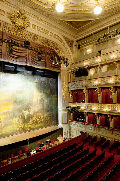 Theater an der Wien inside