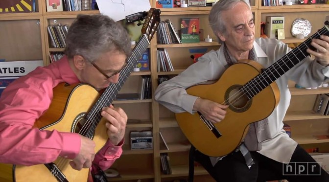 Eliot Fisk & Paco Peña (NPR Music Tiny Desk Concert)