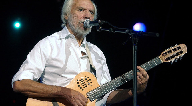 "Georges Moustaki sings ""Le Flamenco"" (Guitar: José Pisa)"