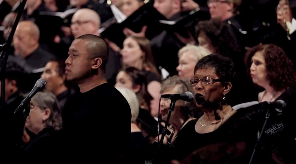 "Angel City Chorale sings ""Baba Yetu"" (Christopher Tin)"