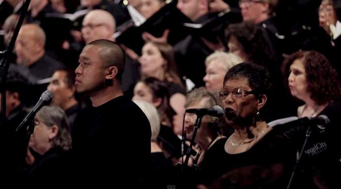 "Angel City Chorale sings ""Baba Yetu"""