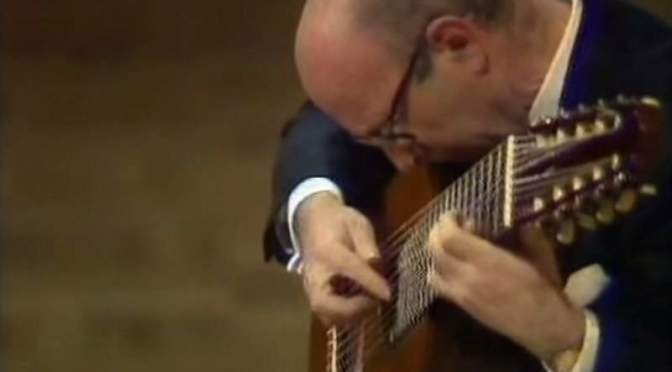 Classical Guitar Recital by Narciso Yepes (1979)