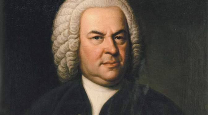 Portrait of Bach