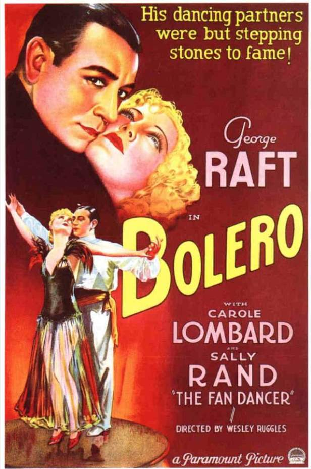 Theatrical release poster of Bolero (1934 film)