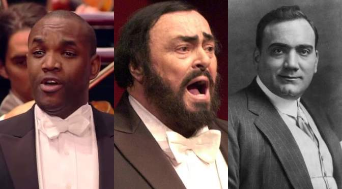 Una furtiva lagrima – Brownlee, Pavarotti and Caruso versions