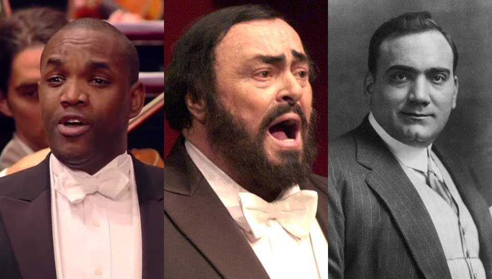 Brownlee, Pavarotti and Caruso