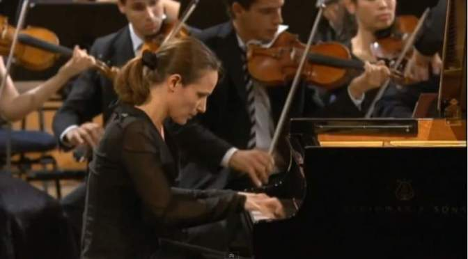 Hélène Grimaud plays Rachmaninoff, Tchaikovsky and Stravinsky