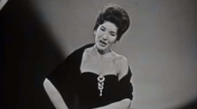 Maria Callas sings Habanera from Carmen