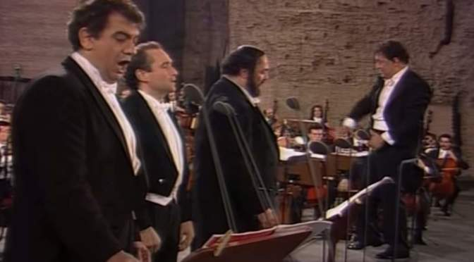 Medley – Pavarotti, Domingo, Carreras (The Three Tenors)