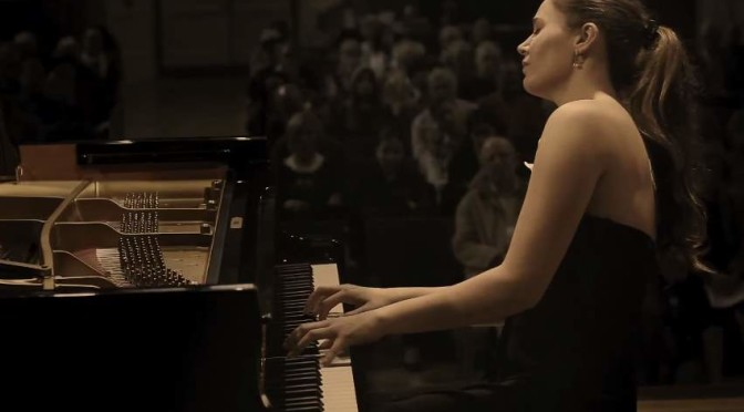 Olga Jegunova plays Chopin's Scherzo No. 2