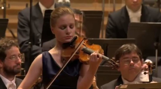 Julia Fischer Tchaikovsky's Violin Concerto in D major