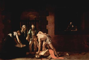 Beheading of John the Baptist by Caravaggio