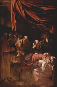 Michelangelo Caravaggio - Death of the Virgin
