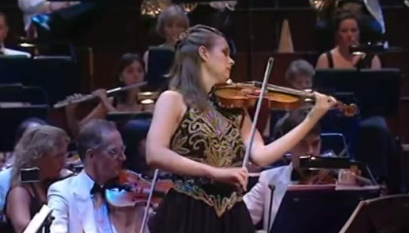 The Lark Ascending, Janine Jansen, BBC Proms 2003