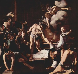 The Martyrdom of Saint Matthew, Caravaggio