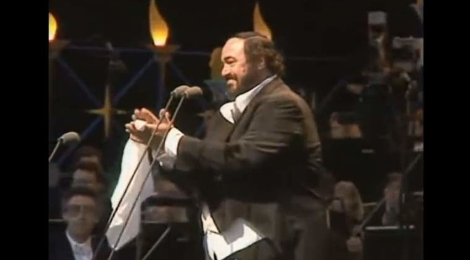 Hyde Park - Luciano Pavarotti concert (1991)