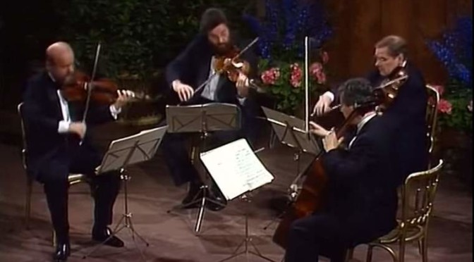 Alban Berg Quartet plays Beethoven's String Quartet No. 1 in F major, Op. 18