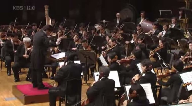 "KBS Symphony Orchestra plays ""Arirang"