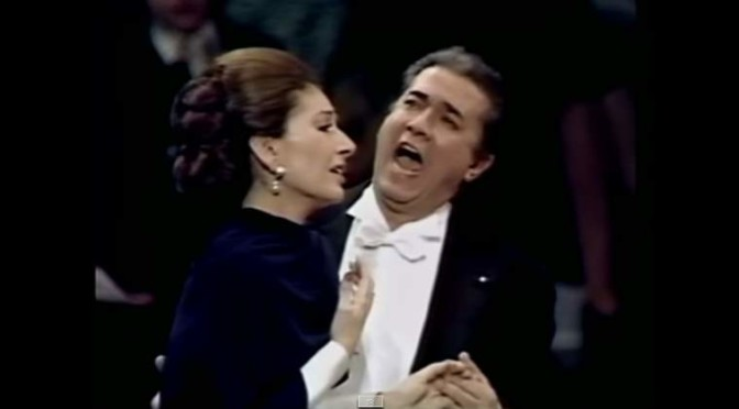 Maria Callas 'London Farewell Concert' with Giuseppe di Stefano (1973)