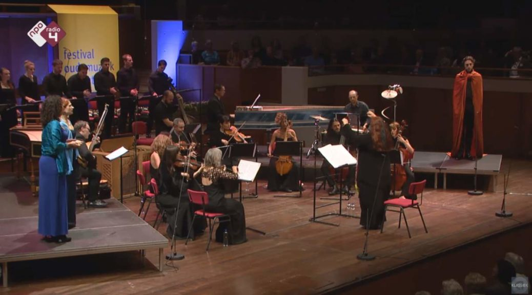 "L'Arpeggiata performs ""Dido and Aeneas"
