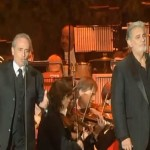 "Plácido Domingo & José Carreras sings ""Non Ti Scordar di Me (Don't Forget About Me)"""