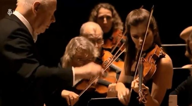 Janine Jansen plays the Violin Concerto in D major, Op. 77 by Johannes Brahms