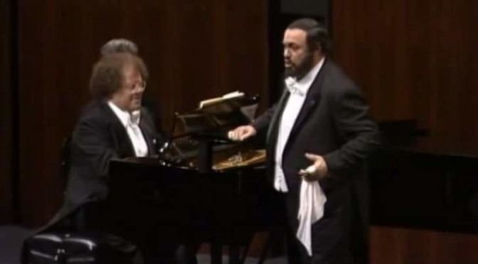 A Recital by Pavarotti and Levine (1988)