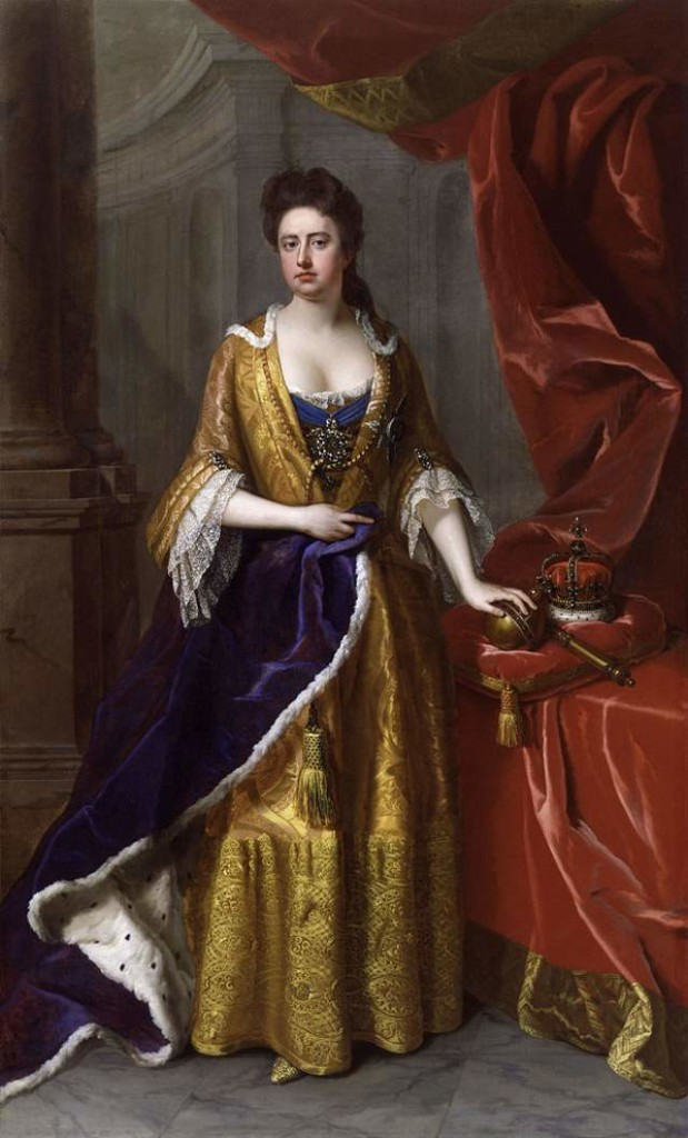 Queen Anne in 1705