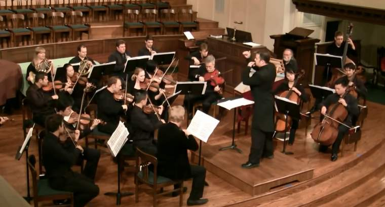 San Francisco Academy Orchestra plays Mozart's Symphony No. 1
