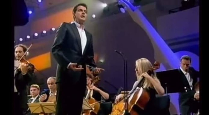 "Philippe Jaroussky sings Antonio Vivaldi's ""Vedrò con mio diletto"" (English: I will see with joy)"