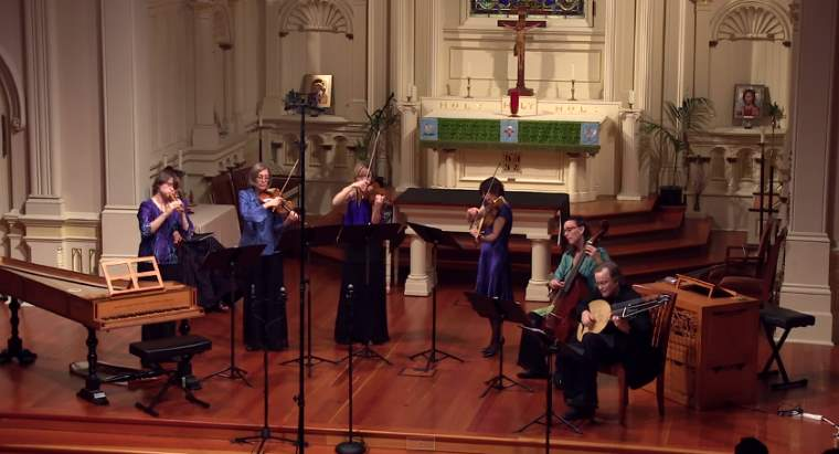 """Voices of Music plays Anthony Holborne's """"The Fairie Round"""""""
