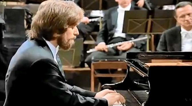 Zimerman plays Ludwig van Beethoven's Piano Concerto No. 3