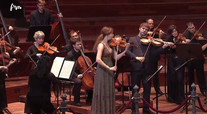 Basel Chamber Orchestra plays Mozart's Sinfonia Concertante for Violin, Viola and Orchestra in E-flat major, K. 364 (320d)