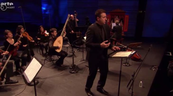 Vivaldi's Stabat Mater performed by the Spanish countertenor Carlos Mena and Ricercar Consort