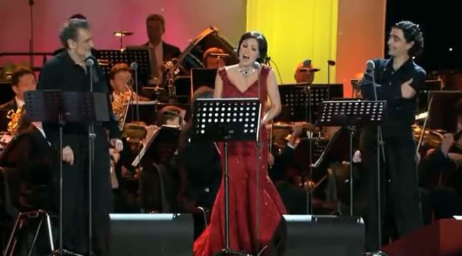 A concert by Anna Netrebko, Plácido Domingo and Rolando Villazón in Berlin, 2006
