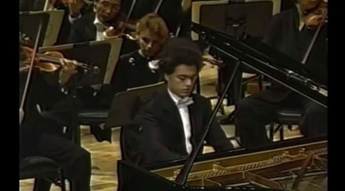 Tchaikovsky – Piano Concerto No. 1 (Evgeny Kissin at the Carnegie Hall, 1995)