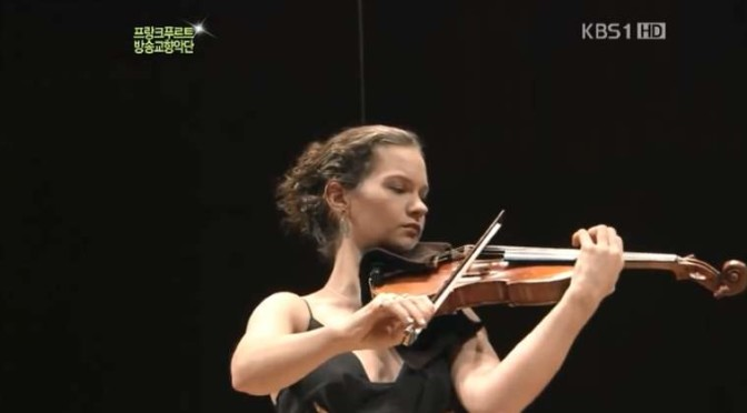 Hilary Hahn plays Felix Mendelssohn's Violin Concerto in E minor, Op. 64