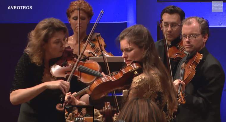 "Janine Jansen and Amsterdam Sinfonietta perform Antonio Vivaldi's ""Four Seasons"""