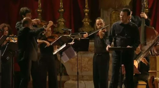 Andreas Scholl sings arias and songs by Henry Purcell