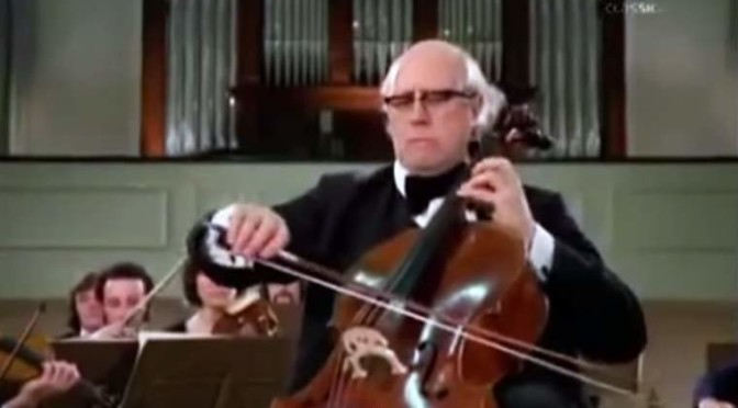 Haydn – Cello Concerto No. 2 (Rostropovich and ASMF)