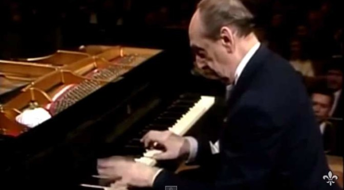 Vladimir Horowitz plays Robert Schumann's Kinderszenen