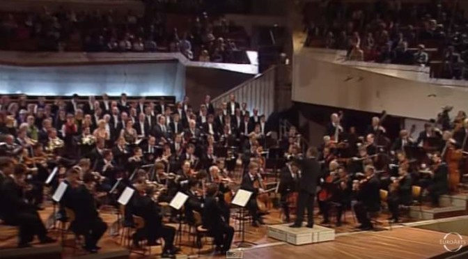 Berliner Philharmoniker - Symphony No.9 of Beethoven
