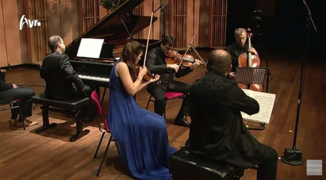 Janine Jansen and Friends play Dmitri Shostakovich's Piano Quintet