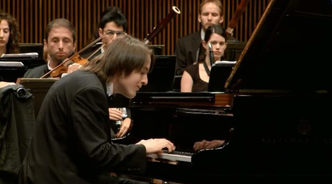 Daniil Trifonov plays Mozart's Piano Concerto No. 23