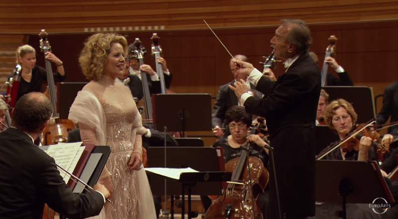Fleming, Abbado: Franz Schubert - Three Songs for Orchestra and Soprano