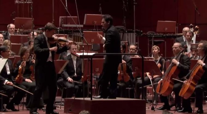 James Ehnes plays Sibelius Violin Concerto