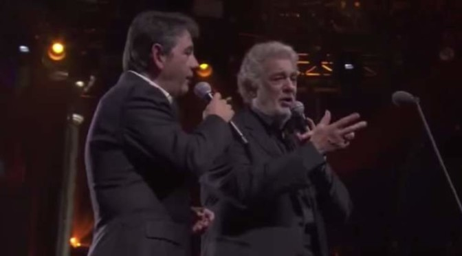 """Perhaps Love"" - Plácido Domingo and Plácido Domingo Jr."