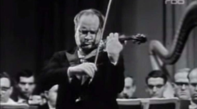 David Oistrakh plays Tchaikovsky's Violin Concerto (1963)