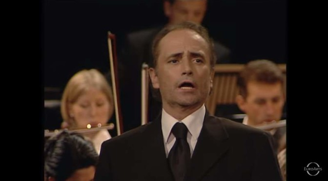 "José Carreras sings ""Kumbaya my lord"""